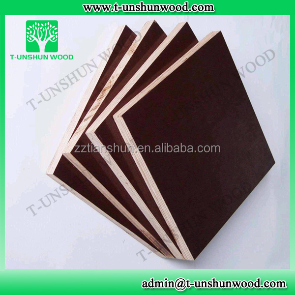 First-Class Grade and Poplar Main Material FILM FACEDPLYWOOD