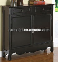 CF30123 French-style Cupboard Console and Sideboard Two Door Console Table