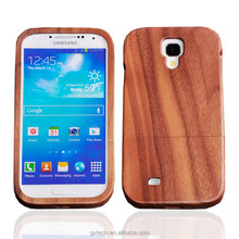 2017 hot sale natural wooden free sample phone case for Samsung s4