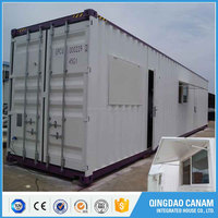 Frame prefabricated prefab house flat pack office container home