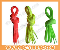 colorful shoelace made in China for sport shoe 2016