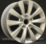Aluminum alloy material alloy wheel 16X8.0 and 17X8.0 black wheel rims