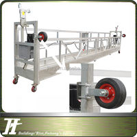 Construction swing stage gondola cleaning machines building electric cradle