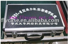 2012 new design USA style Aluminum instrument case with locks and logo print