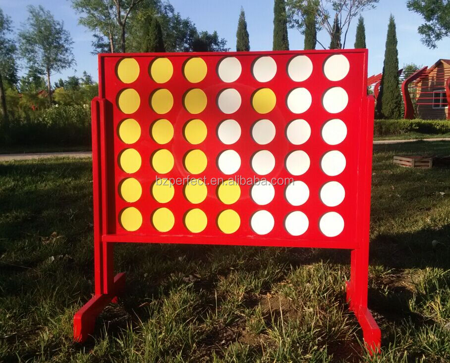 how to make a giant connect four game