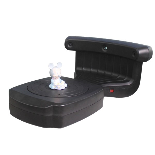 Desktop 3D scanner for 3D model scan, CAD design, 3D printing