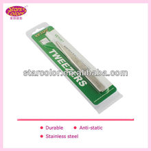 2013 Korea hotest Alibaba fr tweezers Factory price D-078