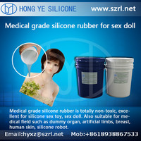 RTV 2 food grade molding application silicone rubber