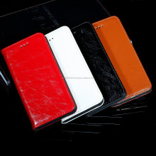 Stocks in CA,USA Gernuine Wallet Leather Case Cover For iPhone5 5s With Credit Holder 4 Colors