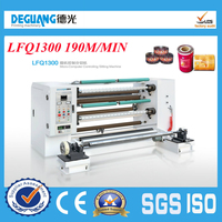 190m/min Plastic film and aluminum foil cutter and cutting machine