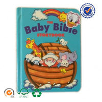 Professional printer for custom design hardcover bible board book for children