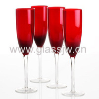 Custom Colored Champagne Glass