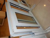Aluminum sliding Window with good looking standard 450 series double glass aluminium windows with 10 year