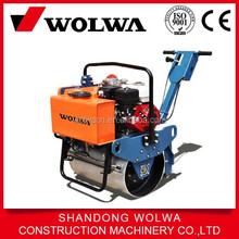 mini road roller compactor with 5.5hp engine power
