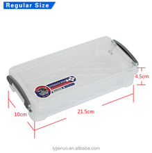 wholesale Good price pp plastic school stationery pencil box /pen cases /pencil packaging box