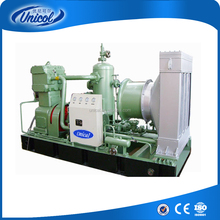 Special customized screw type and piston type combinated compound air compressor 400bar high pressure