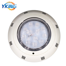 High quality ABS material 12W IP68 Single Color 12 volt burly led pool light