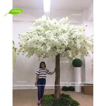 GNW BLS1707017 Large ivory silk cherry blossom tree for indoor wedding decoration