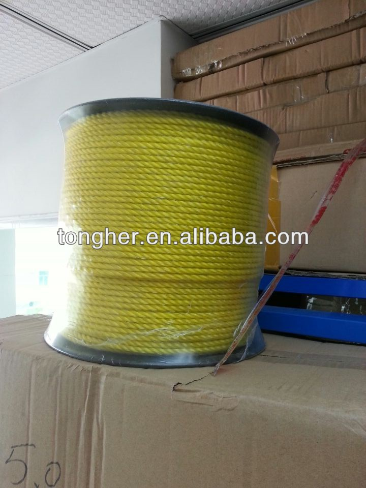 China best electric fence rope for farm electric fencing polywire 5.0mm polyrope China--Tongher