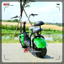 2017 Year Hot sale New Model 800W Motor Fat Tire Mobility Big Harley Electric scooter