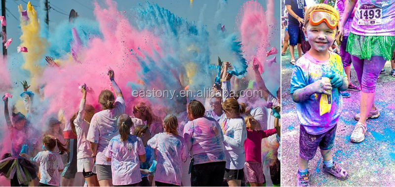 High Quality Festival Color Powder, Holi Powder for The Color Run for Celebrating Outdoor Parties Festival