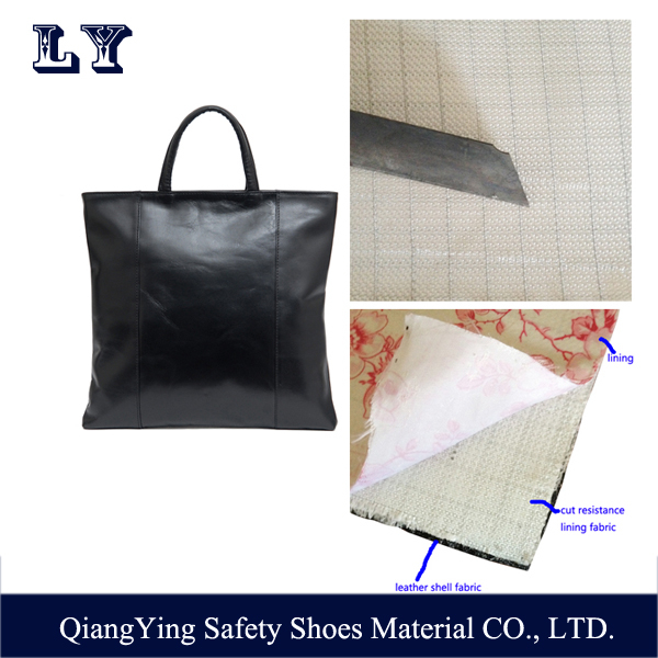 Wholesale Cut Resistance Fabric Lining Material For Fashion Lady Handbag