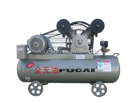 Air Compressor Manufacturer 3KW 4HP 0.36m3/min 8bar motor type oil free piston compressor .