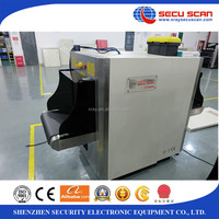 X-ray baggage scanner AT6040 x-ray machine for Hotel/Police use with high performance