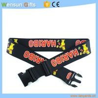 Custom printing luggage belt strap Shenzhen factroy