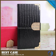 Diamond Bling Wallet Leather Case for Samsung Galaxy S5 phone cover