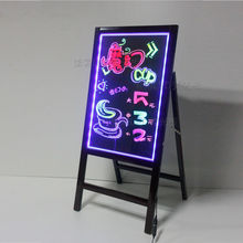 new products christmas 2013 wooden frame led advertising product