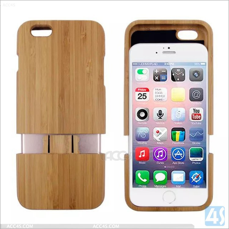 for Apple iphone 6 real wood case luxury case