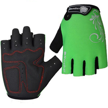 Custom Outdoor sports Racing Summer Heated bicycle Cycling half finger Gloves