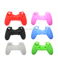 Hot sale high quality soft flexible silicone protective water-proof controller cover/caser for PS4
