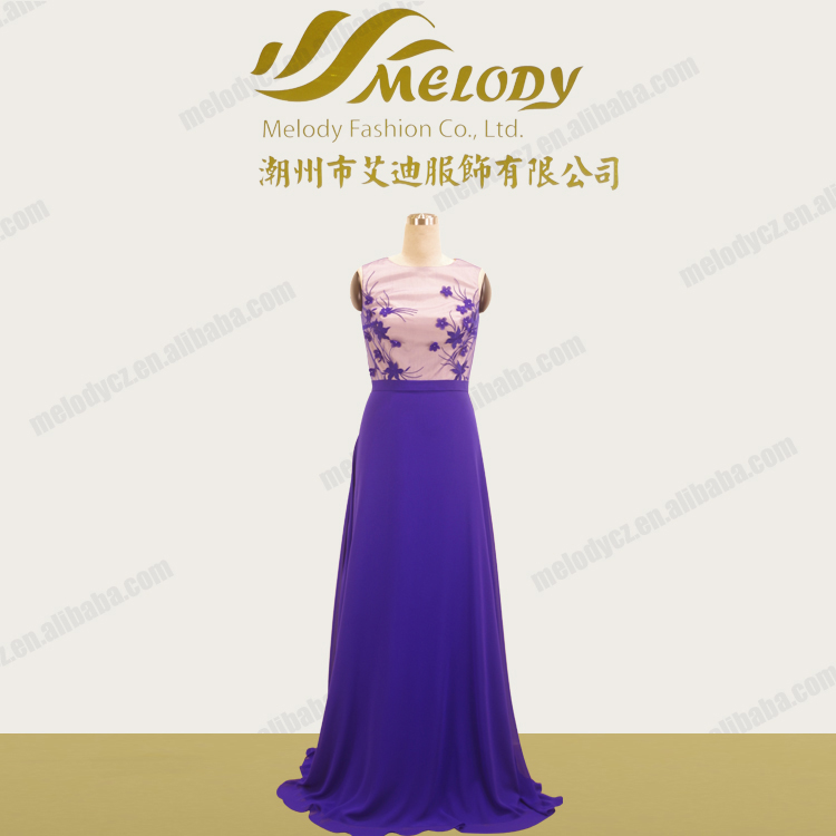 Mother of bride flowers embroidery off shoulder evening dresses from dubai