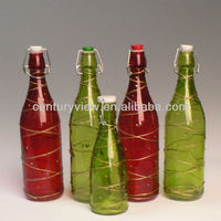 16 oz glass bottles for Chrismas