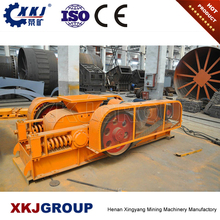 Newest mineral processing aggregate iron ore roller small mobile crusher