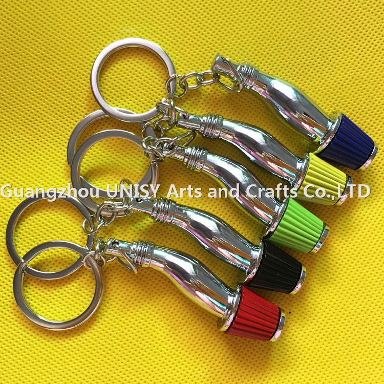 NEO colourful Mushroom shape key chain key ring /Mushroom design car key chain/Charger turbo key ring