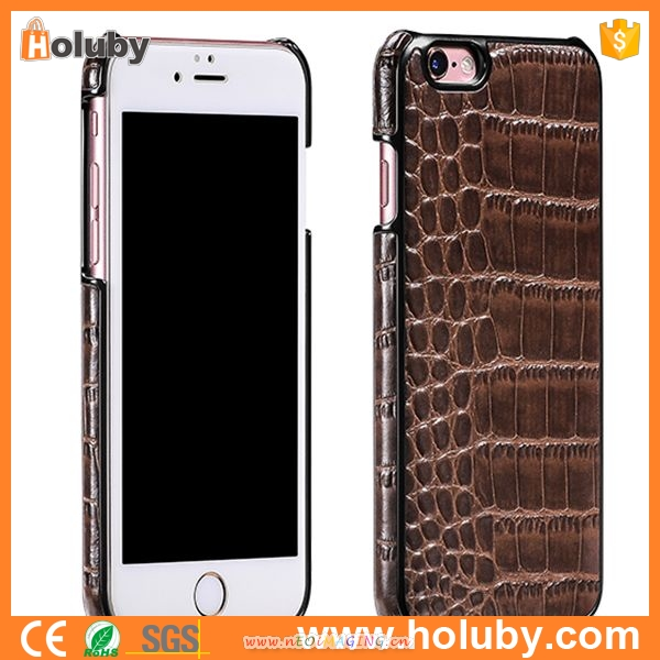 HOCO platinum series classic crocodile back leather mobile phone case for iPhone 6 Plus 6S Plus