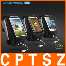 "ROSWHEEL 4.2"" 4.8"" 5.5"" Bike Bicycle Cycle Cycling Frame Tube Panniers Waterproof Touchscreen Phone Case Reflective Bag"