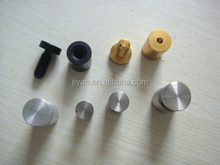 cnc aluminium machined metal parts fabrication bearing spacer for double glass