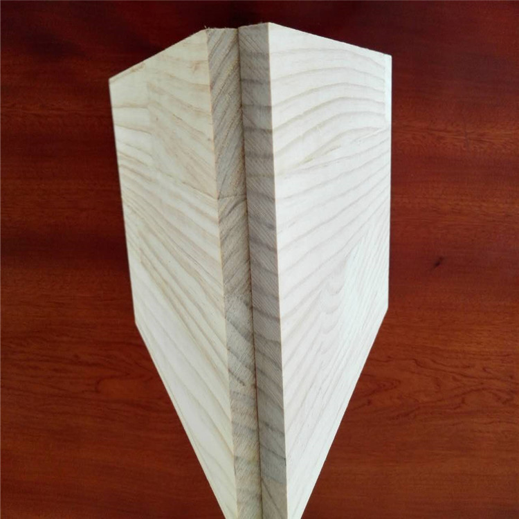 Chile high quality white pine finger joint board 18mm wood panels