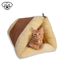 Cat pet luxury bed fleece tube indoor cushion foldable mat for dog puppy kitten kitty house