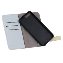 cheap price 2 in 1 detachable pu +pc +tpu mobile phone wallet case for iphone 5/6/6/s/6plus/7/7plus