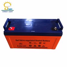 timeproof heat resistant 12V 200AH deep cycle GEL solar battery