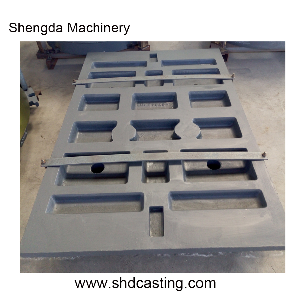 OEM for jaw crusher wear spare parts Extec C12 Swing jaw Fixed jaw