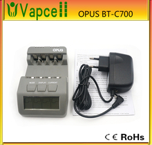 Cheapest Opus BT-C700 NiCd NiMh LCD Digital Intelligent AAA 14500 AA Battery Charger with EU US Adapter