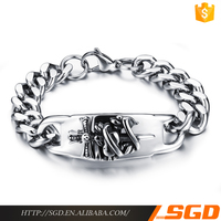 New Arrival Stainless Steel Gothic Element Bracelet brand jewelry