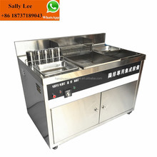 For Fast Food Used electric or gas Fryer Chicken Fryer Machine Commercial Chicken Fryer cart