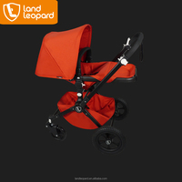 Land Leopard baby buggy complied with EN1888:2012 standard with smart seat unit can be adjusted into many modes